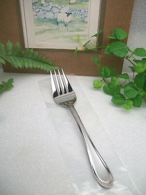 Oneida Gourmet Collection Joann Stainless Steel Cold Meat Serving Fork  New