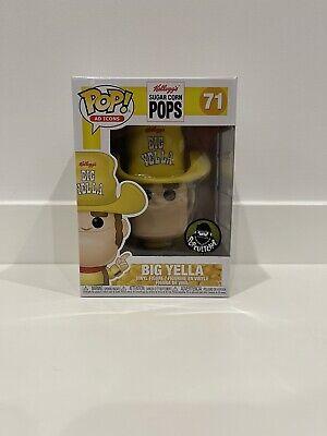 Big Yella Popcultcha Exclusive - Ad Icons Kellogs Funko POP! Figure & Protector