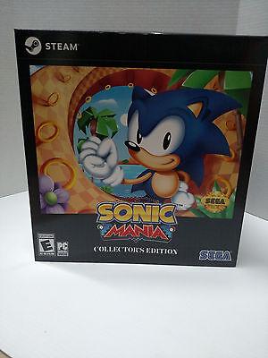 Sonic Mania  Collectors Edition  Pc  2017    Brand New