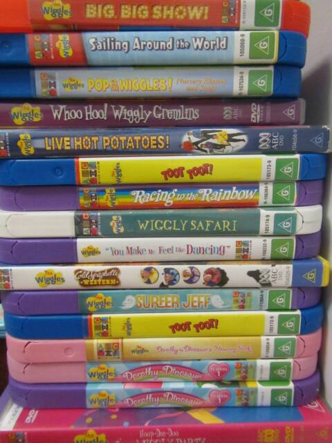 The Wiggles Dvd Dorothy The Dinosaur 10 Each Childrens Tv
