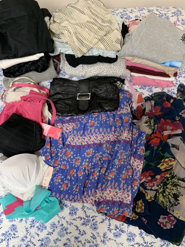 Junior 22 Pc Clothing Lot Xs/s/m Nice Mix Of Brands/styles/colors Used & W/tags