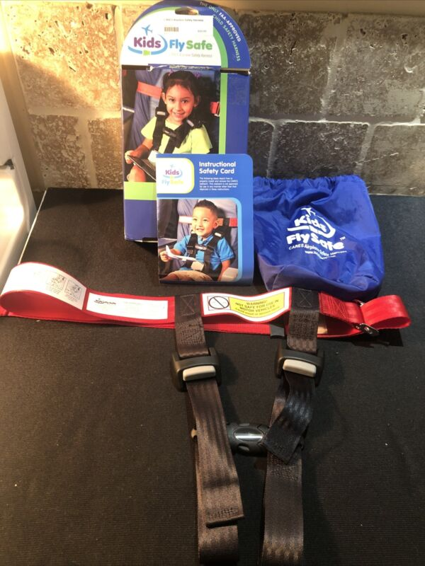 Child Airplane Safety Travel Harness - The Safety Restraint System Open Box