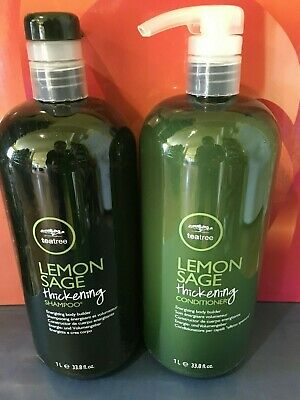 Paul Mitchell Tea Tree Lemon Sage Shampoo &  Conditioner  33.8 oz Paul Mitchell Lemon Sage