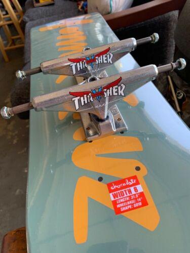 "Venture trucks X Thrasher  5.8"" polished  Skateboard Trucks SKATEBOARDING"
