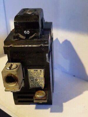 Pushmatic Breakers 60 Amp P260