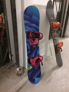 Burton Snowboard, Bindings, Boots, Helmet, Googles & Lock