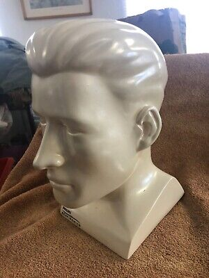 Philips Respironics Display Mannequin Mans Head Perfect For Hats Life-size