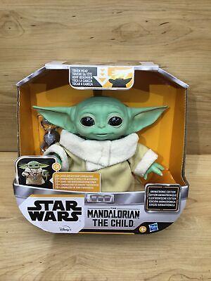 Disney Star Wars Mandalorian The Child Baby Yoda Animatronic Toy Sound Movement