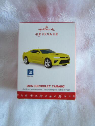 2016 Hallmark Ornament 2016 Chevrolet Camaro NIB