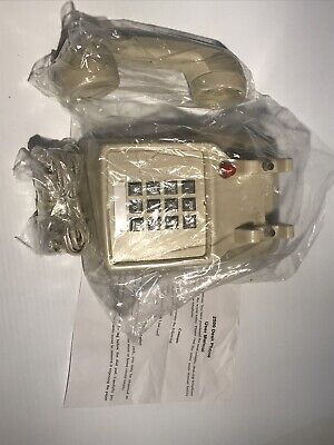 New National Brand 852004 Beige Office Telephone Wmessage Light Full Case Of 8