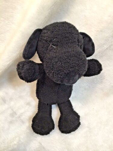 "Kaws Uniqlo Peanuts Snoopy Black Plush Animal 11"""