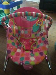 Pink Vibrating Chair