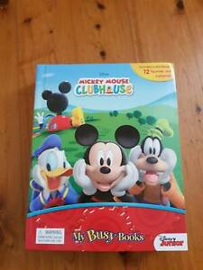 Disney Mickey Mouse Clubhouse My Busy Books