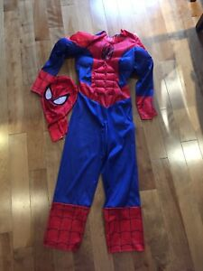 Costume Spiderman garçon Small (6-8ans)
