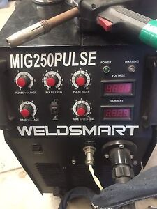 MIG Welder 3phase 250amp Warnbro Rockingham Area Preview