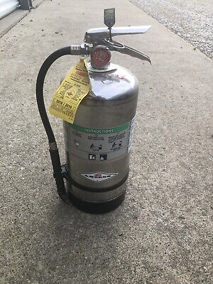 Amerex 6 Liter Fire Extinguisher B 260 Wet Chemical Unused 2018