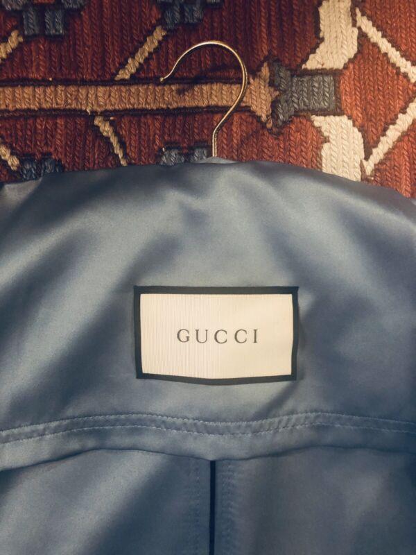 Gucci DIY Blue/Herbarium Print Dust/Travel Garment Bags