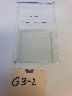 New Schott Glaswerke Longpass Filter Kv 380 Warranty