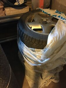 Volvo wheels rims with winter tires studded 205/55/16