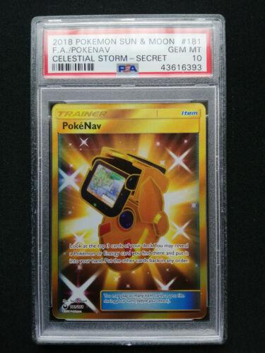 4X PokeNav 140//168 S/&M Celestial Storm Uncommon PERFECT MINT Pokemon