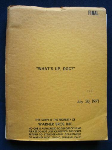 ORIGINAL SCRIPT for WHAT