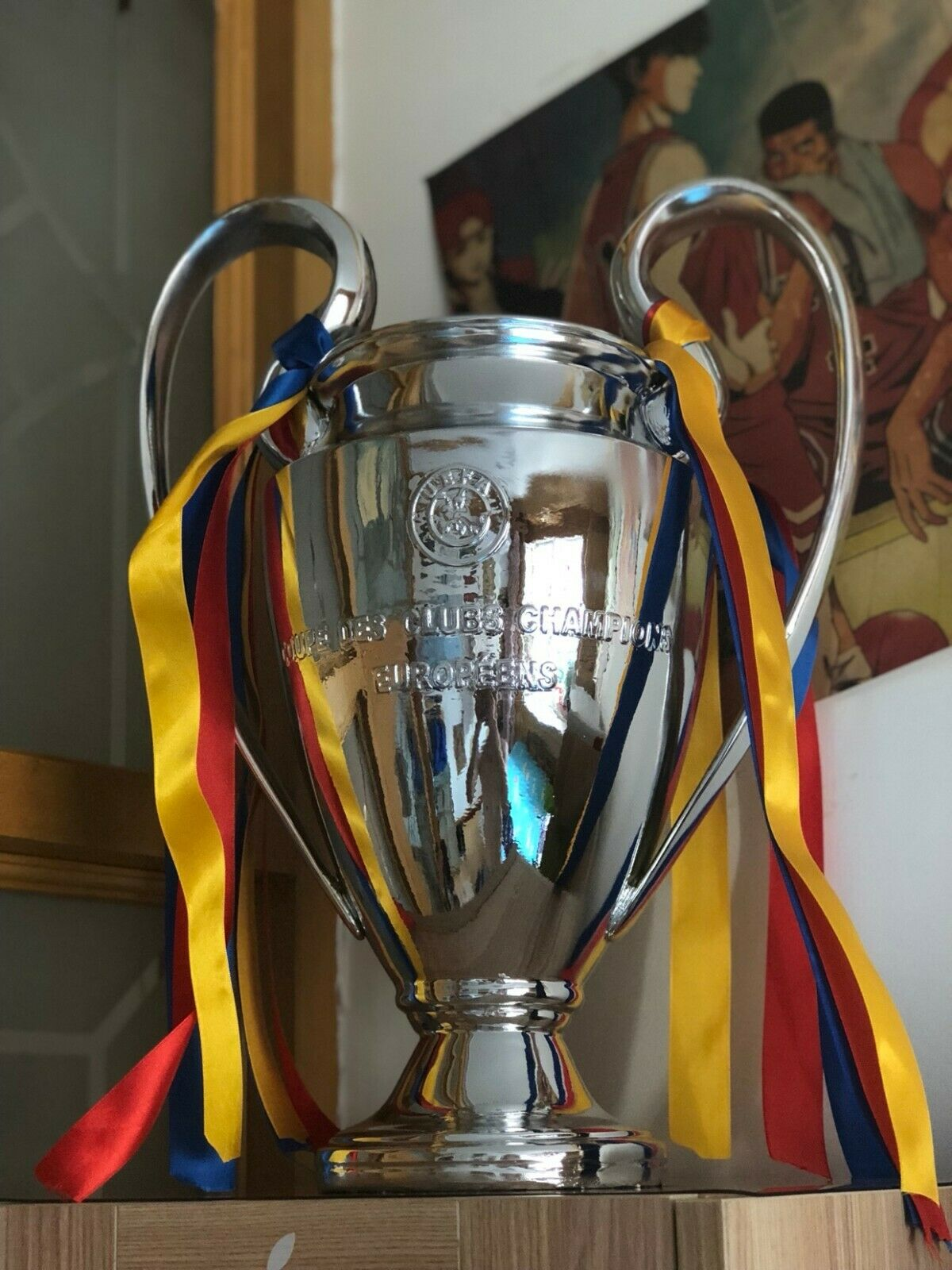 2017 uefa champions league trophy 1 1 replica 17inches 43cm height for sale online ebay 2019 uefa champions league trophy 1 1 all sizes liverpool replica fast shipping