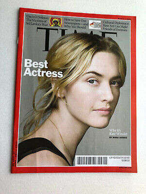 """""""TIME"""" Asia edition  March 2, 2009  Best Actress (Cover: Kate"""
