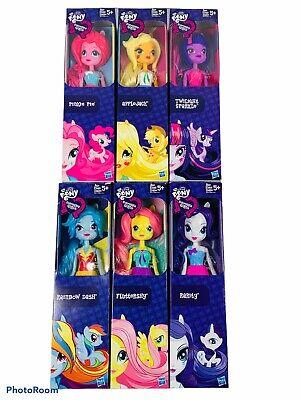 Lot Of 6 • My Little Pony • Equestria Girls • Dolls Pinkie Pie Rainbow Dash...