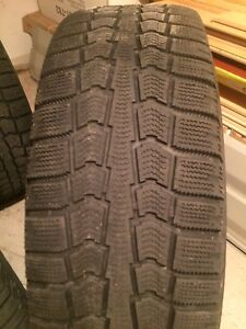 4x 195/65/R15 Pirelli Ice Control Tires and Rims