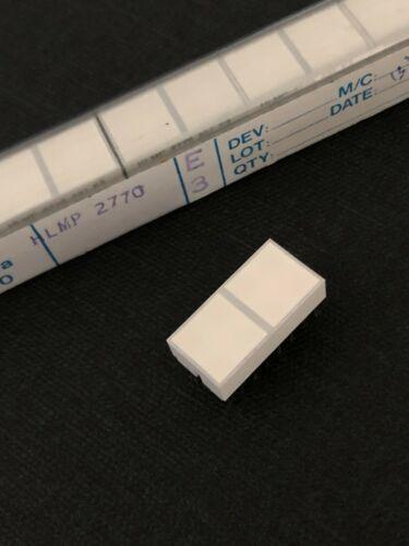 4pcs YELLOW 2-SQUARE QUAD LED DISPLAY BAR UNIQUE HP HLMP2770 16 PIN STANDARD DIP