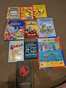 Various book titles in excellent condition