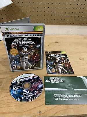 XBOX / 360/ ONE STAR WARS: BATTLEFRONT II 2 Tested WORKS GREAT Complete