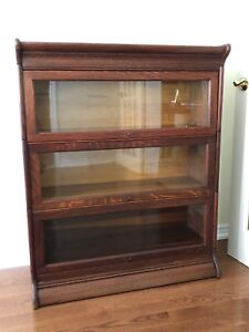 Antique barrister stacking bookcase