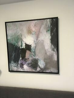 Framed canvas print