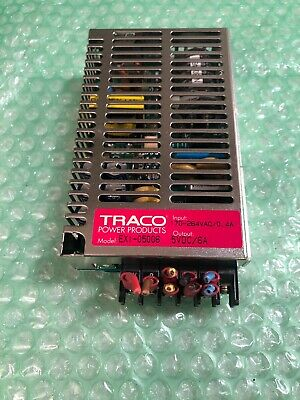 Traco Exi-05006 Power Supply Input 170-264vac 0.4 Amp Output 5vdc 6 Amp
