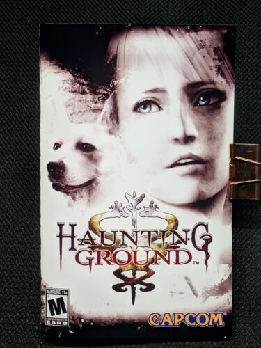 Reproduction Haunting Ground (PS2) Manual