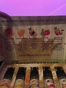 E juice sample pack