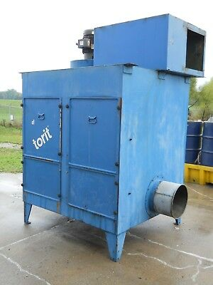 Donaldson Torit 4000 Cfm Industrial Mist Collector - Mc 400015 Hp Machine Shop
