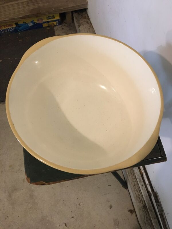 T.G. Green Gripstand XL Mixing Bowl Made In England 12s Mustard Yellow