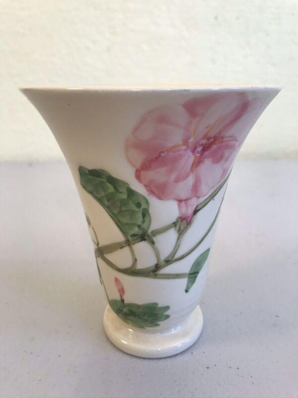 """Rare Catalina Island Ceramic Vase Polynesia Art Ware 4 3/4"""" Tall"""