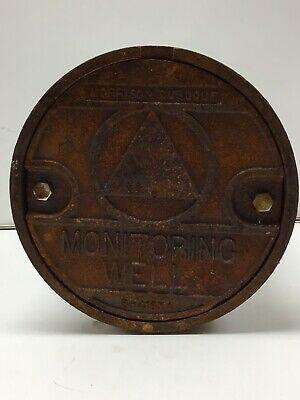Morrison 8 X 12 Limited Access Well Monitoring Manhole. New Old Stock
