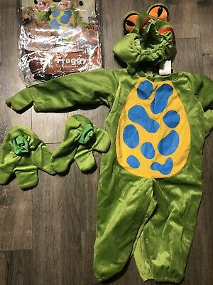 Halloween 2 Froggy (NEW TREE FROGGIE FROG SIZE LARGE 18 MONTH-2T HALLOWEEN COSTUME DRESS)