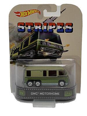 Hot Wheels GMC Motorhome Stripes Retro Entertainment (523)