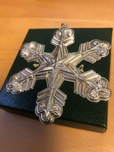 Gorham Annual Sterling Snowflake - 1998