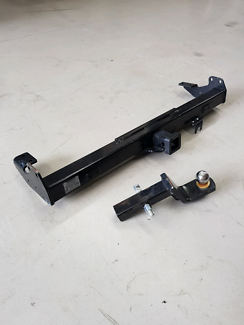 2013 Hilux rear tow bar assembly