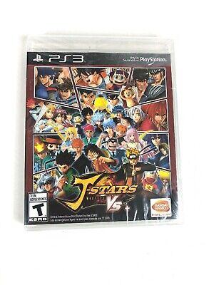 J-Stars Victory VS+ for PS3 - Playstation 3 Video Game - NEW + SEALED  comprar usado  Enviando para Brazil