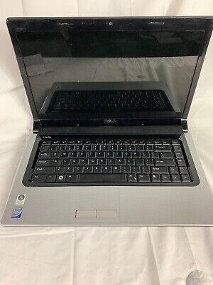 Dell Studio 1555 Intel Core 2 Duo T6500 2.10GHz 1GB Ram 80GB HDD NEEDS BATTERY segunda mano  Embacar hacia Mexico