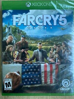 Far Cry 5 XBox One Standard Edition Brand New Sealed Fast Ship with Tracking