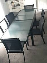 OUTDOOR TABLE + 6 CHAIRS as new only used indoors URGENT SALE Cammeray North Sydney Area Preview