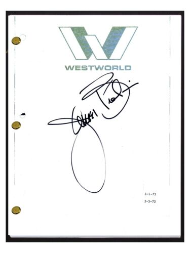James Brolin Signed Autographed WESTWORLD Movie Script Screenplay COA